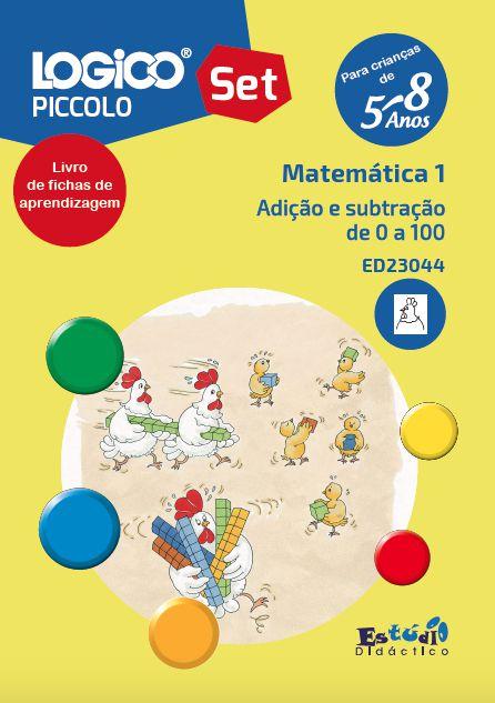 ED23044 Livro Adição e subtração de 0 a 100 para LOGICO PICCOLO
