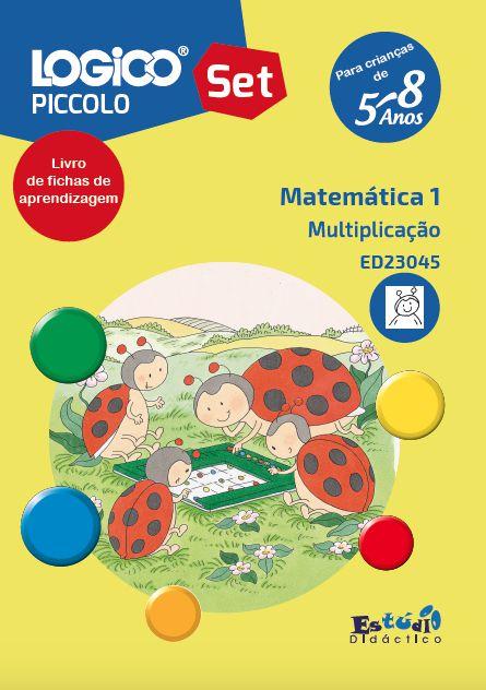 ED23045 Livro Multiplicação para LOGICO PICCOLO