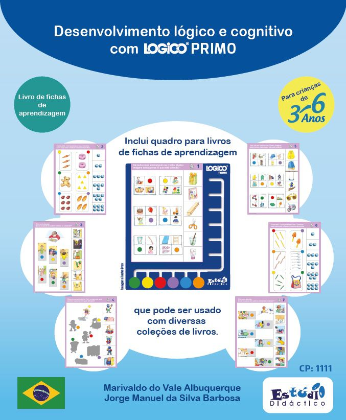 ED11010 LIVRO Desenvolvimento do raciocínio lógico e cognitivo com LOGICO PRIMO