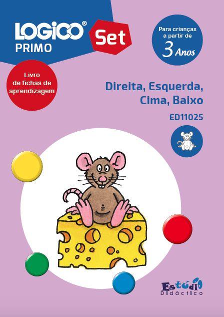 ED11025 Livro Direita, Esquerda, Cima, Baixo.