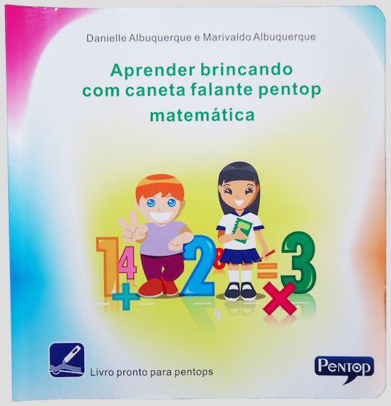 PL03 Livro Aprender Brincando Matemática para uso com Pentop