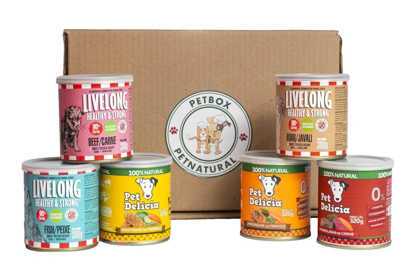 """PetBox Cães adultos pequenos """"Alimentação natural"""""""