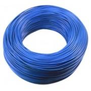 Fio Cabo Flexível 1,5mm azul 1 Metro