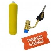 Maçarico + gás Mapp  em oferta