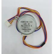 Motor De Aleta Evaporadora 30.000 Btus Agratto Lado Direito Fit Ccs30 Original