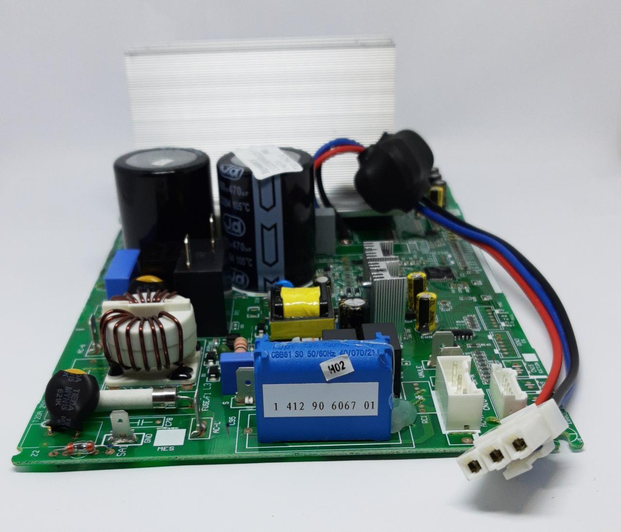 Placa Condensadora 9000 Btu Q/F Hvqe09b2ia Hvqe09b2nb Elgin