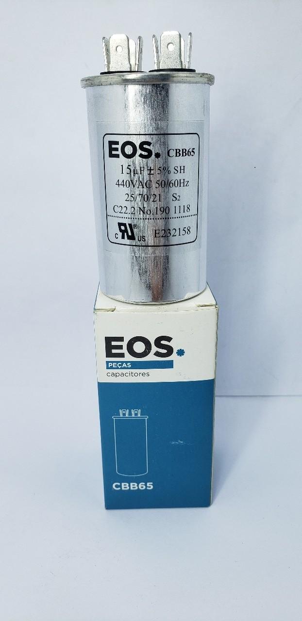 Capacitor 15MFD 440VAC EOS