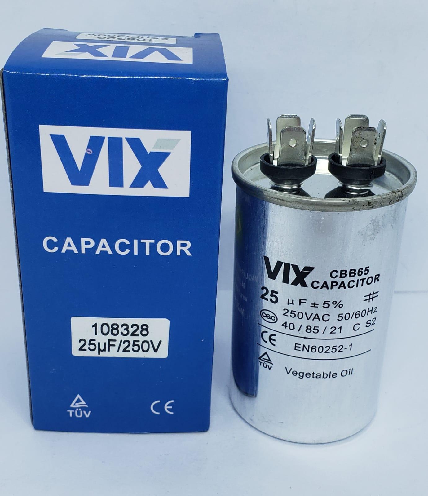 Capacitor 25Uf 250v