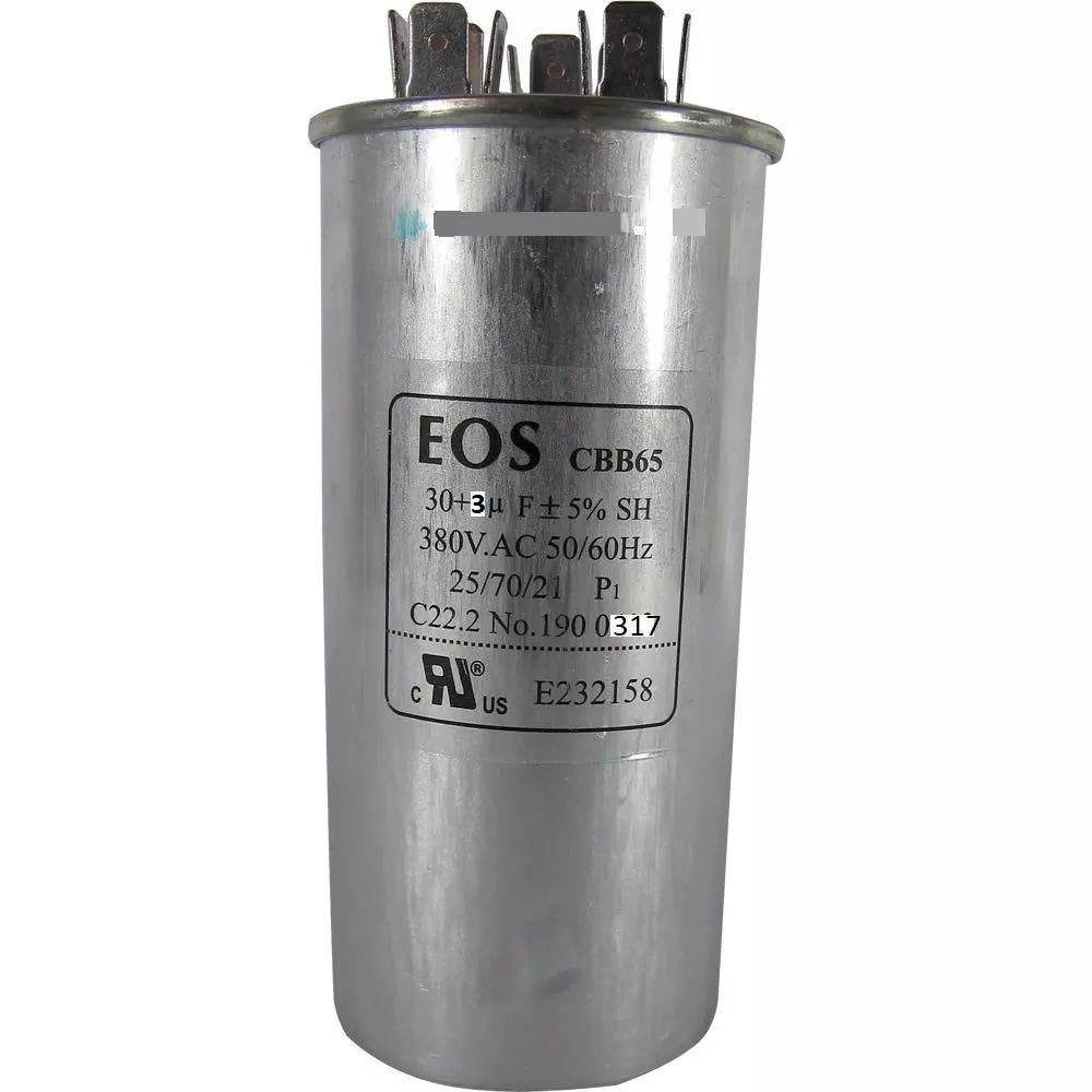 Capacitor 30+3uf 440v - Eos