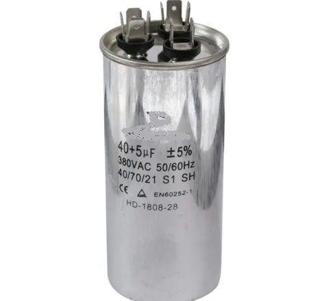 Capacitor 40+5µF - 380 VAC