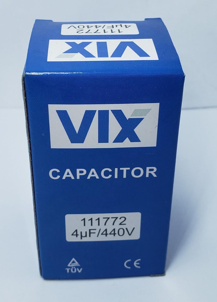 Capacitor 4Uf 440V vix