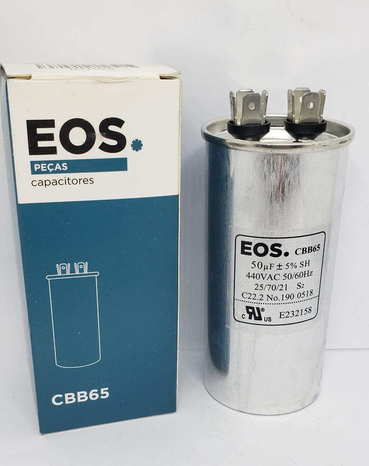Capacitor 50uf 440vac - Eos