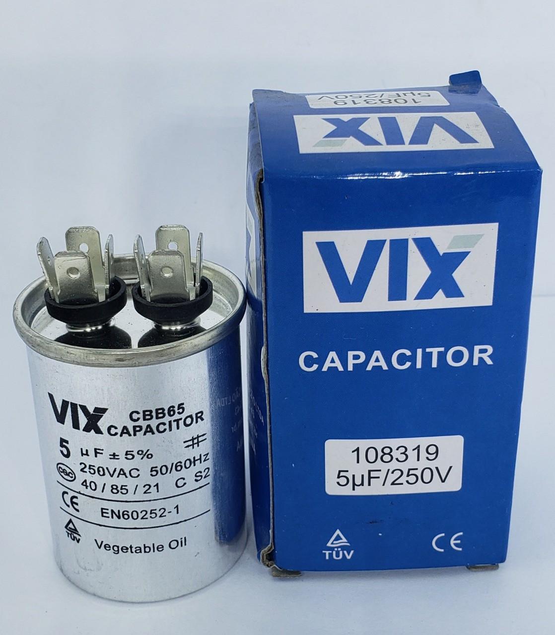 Capacitor 5uf 250v Vix