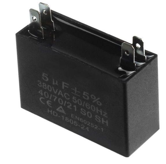 Capacitor Partida Ar Condicionado 5uf Mfd 450v Split 2t Eos