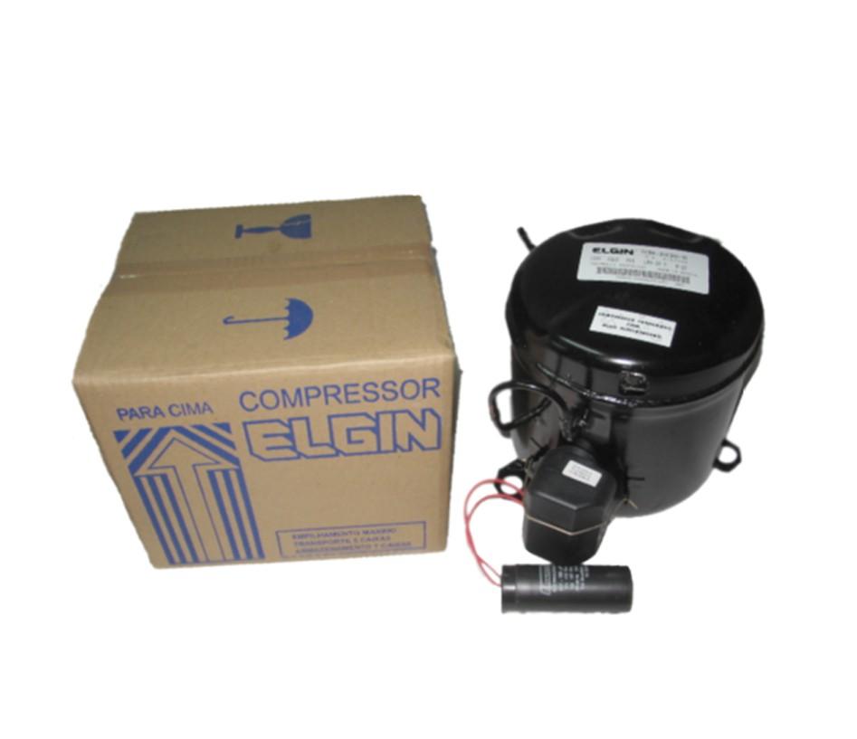 Compressor Elgin 1/3+Hp R134 127v 60hz Enl013d