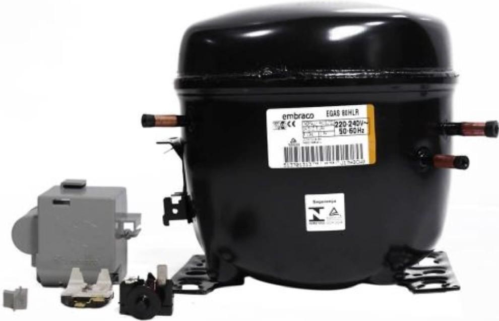 Compressor Embraco 1/4+ Hp Egas80hlr 220v R134a W11375485 Original