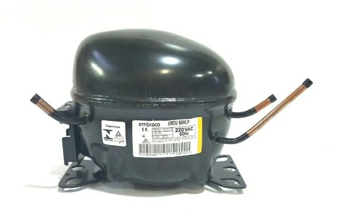 Compressor Embraco Em2u60hlp 220v R134a 1/5hp Original W10799397