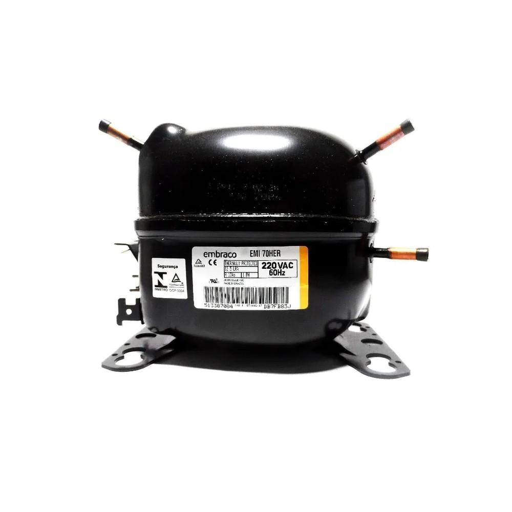 Compressor Embraco Emi70her 1/5 R134a 220v Original W10393810