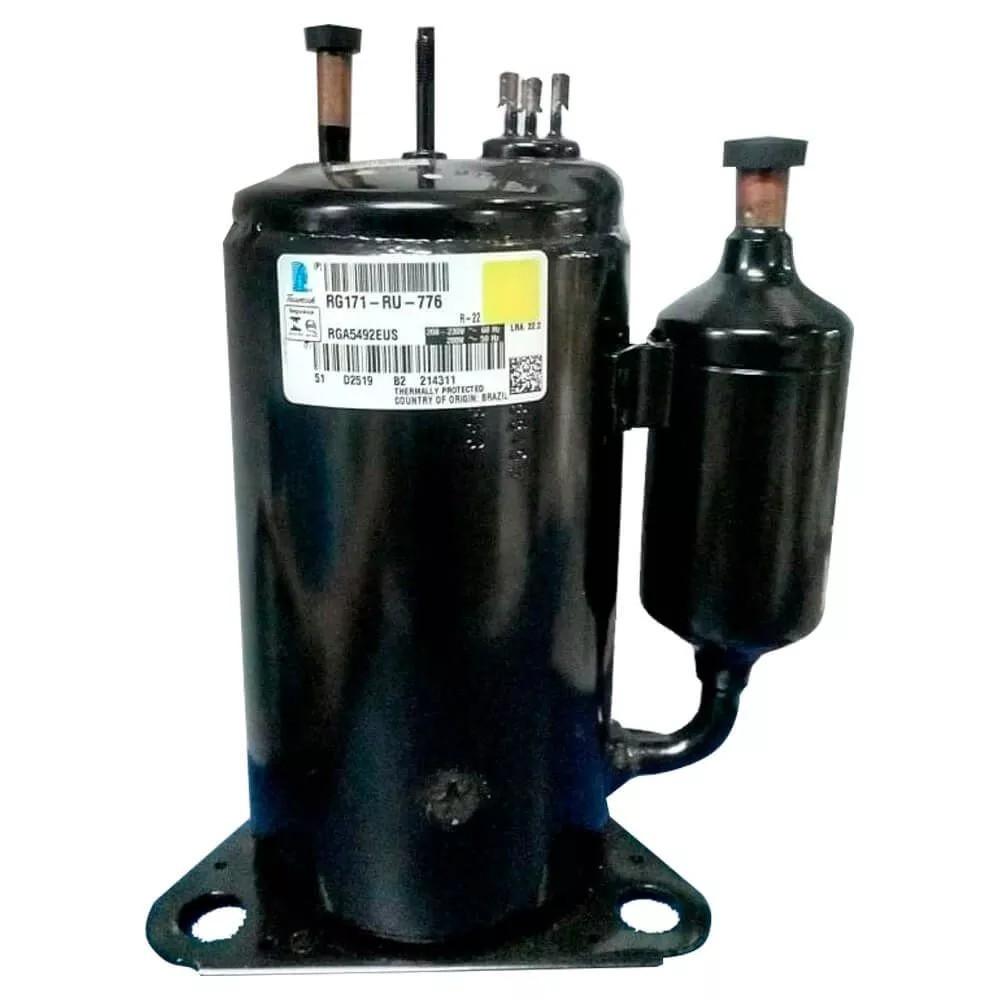 Compressor Rotativo 9kbtu R22 220v 60hz Rga5492eus Original W10339281