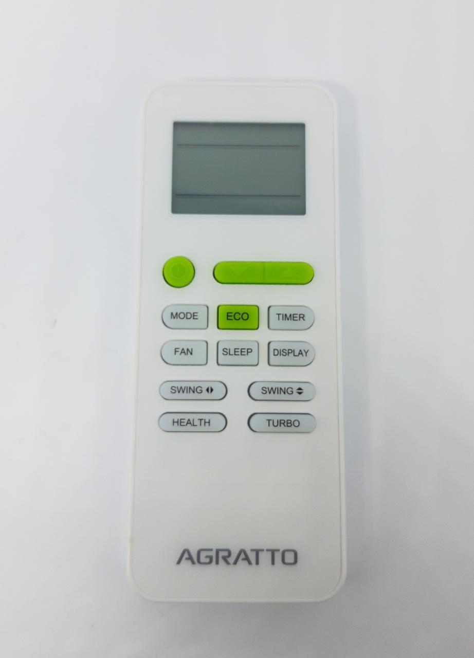 Controle Remoto 30.000 Btus Agratto Eco Ecs30 Original