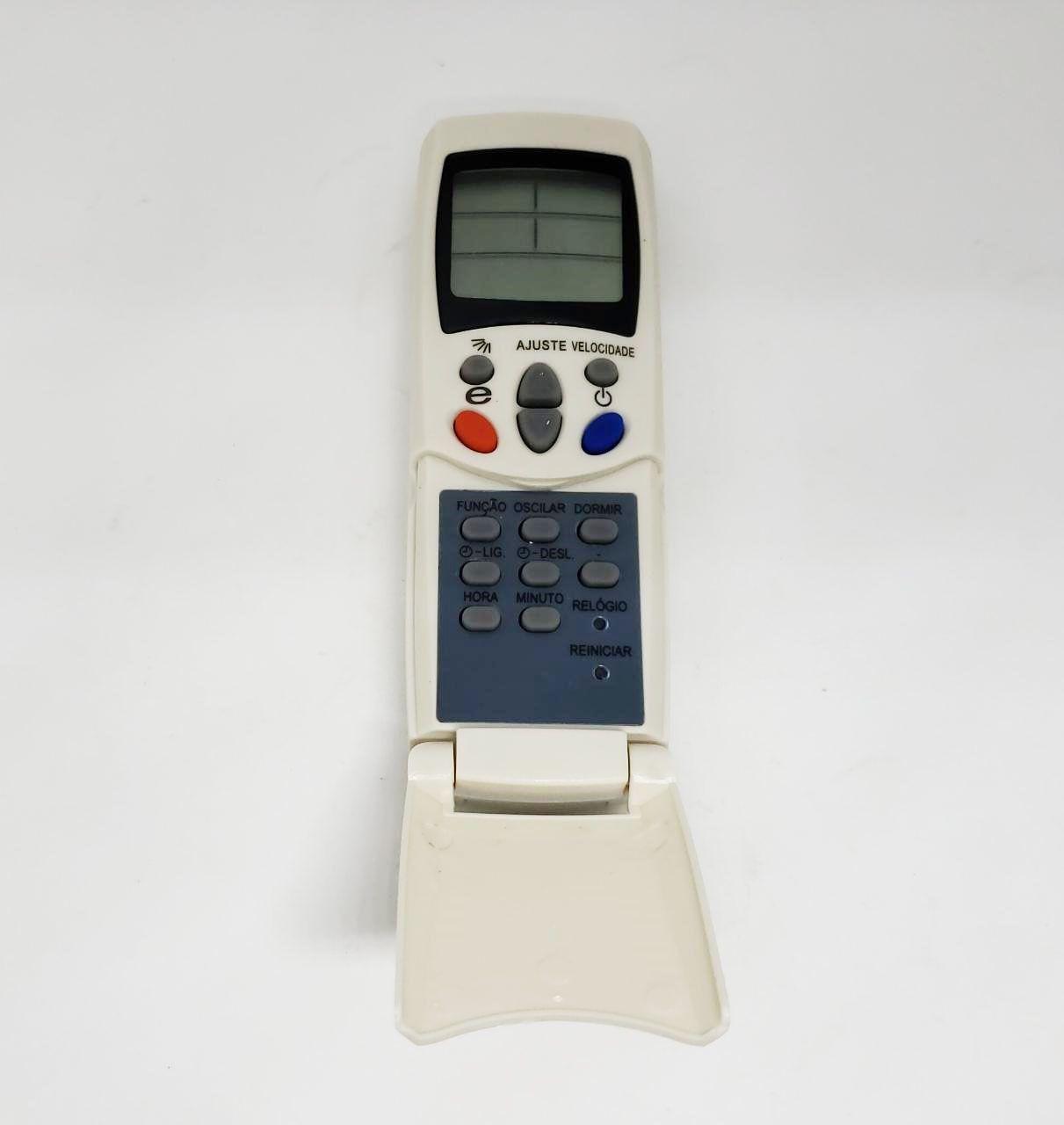 CONTROLE REMOTO ELGIN (CASSETE K7/PISO TETO) 18000 A 80000 BTU