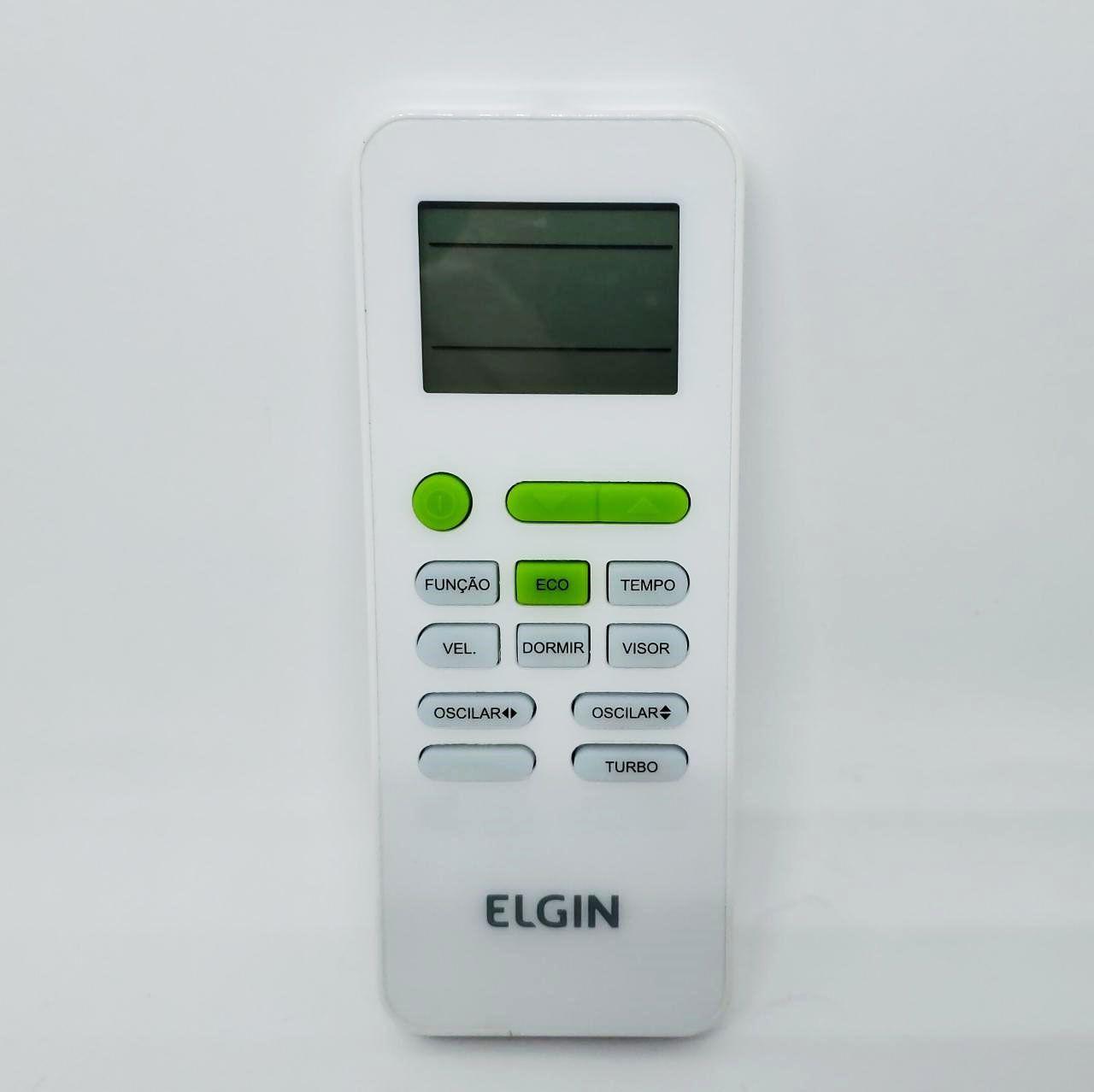 CONTROLE REMOTO ELGIN (CASSETE K7 / PISO TETO) 9000 A 80000