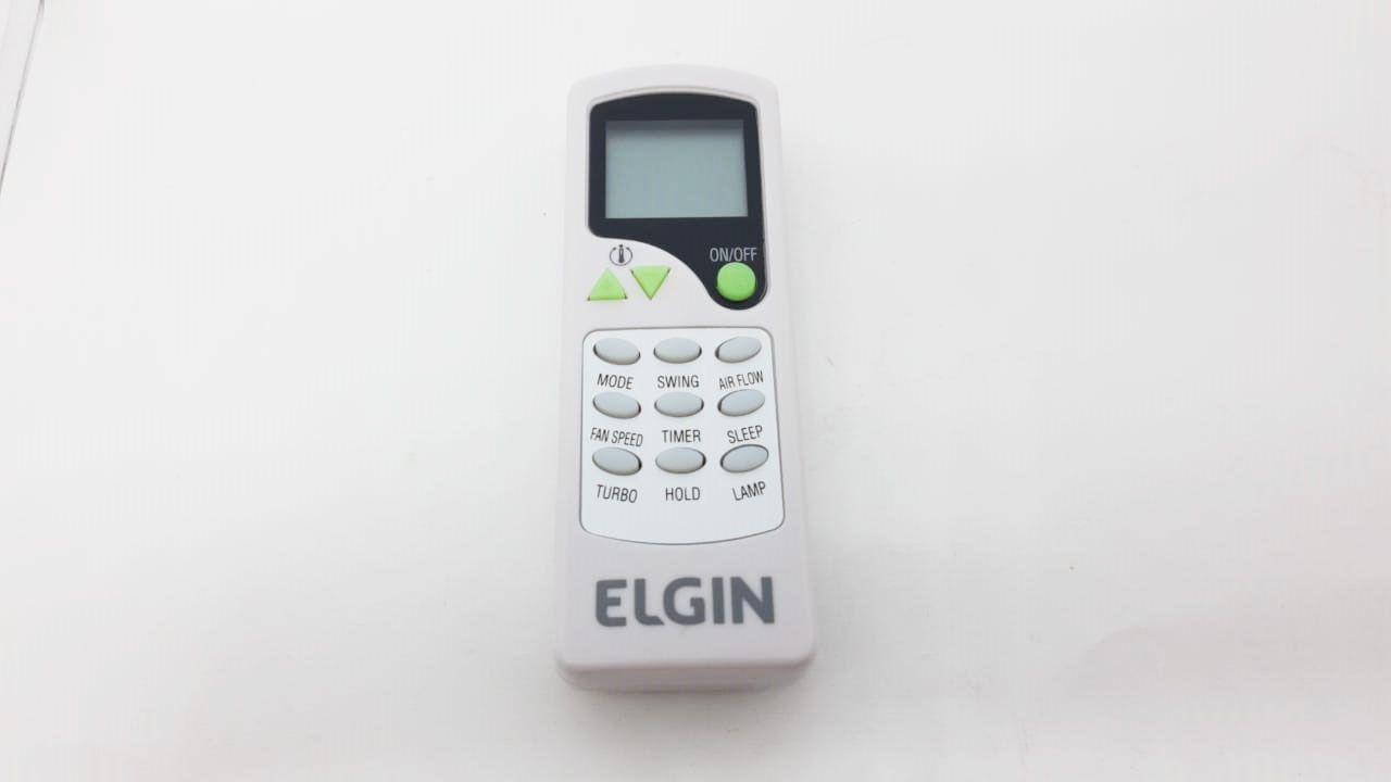 CONTROLE REMOTO ZH/LT-01 ELGIN (ORIGINAL) 9000 A 30000 BTU