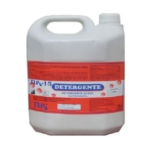 Detergente Acido Ths-15 Domestico Limpeza Uso Profissional
