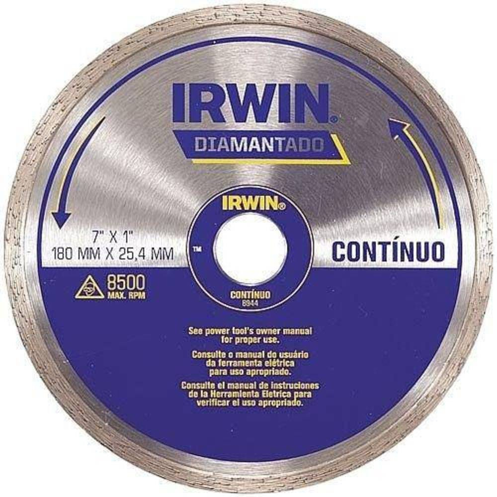 Disco Diamantado 110mm Liso (contínuo) Corte A Seco Iw13891 Irwin