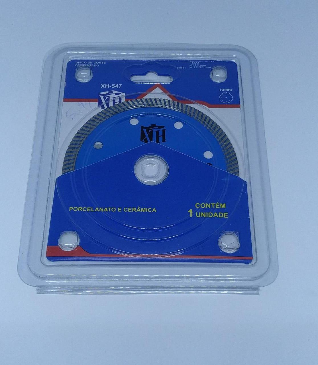 Disco Diamantado 110mm Turbo - Porcelanato E Cerâmica