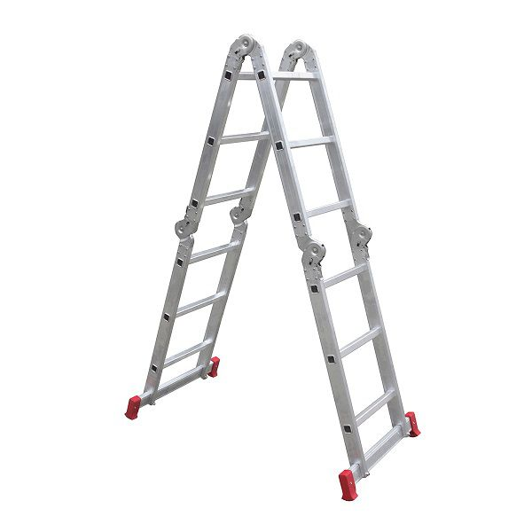 Escada Articulada Multifuncional 12 Degraus