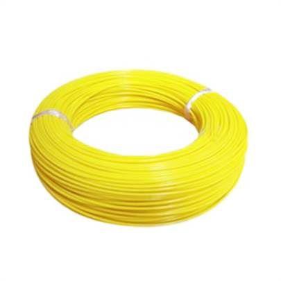 Fio Cabo Flexível 1,5mm Amarelo 100 Metro