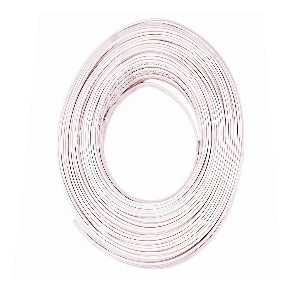 Fio Cabo Flexível 1,5mm Branco 100 Metros