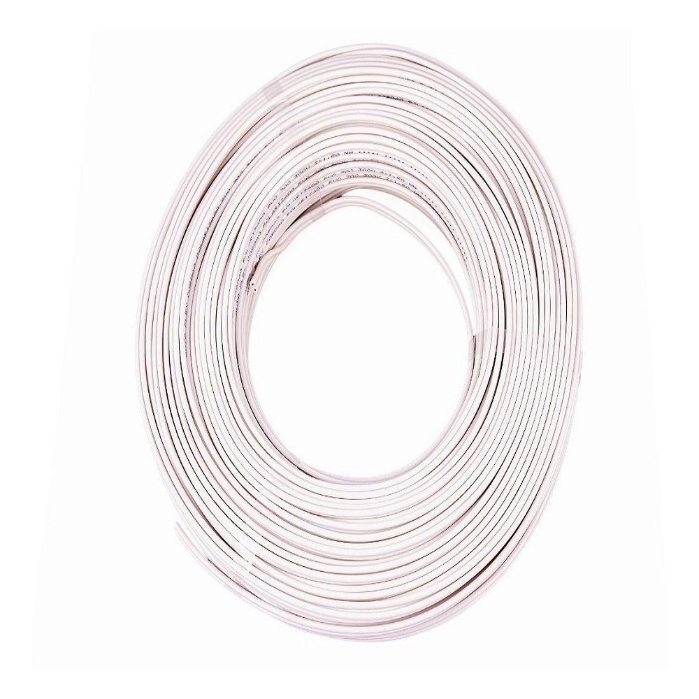 Fio Cabo Flexível 1,5mm Branco 1 Metro