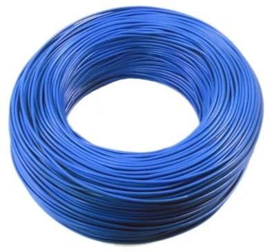 Fio Cabo Flexível 2,50mm azul 100 Metros