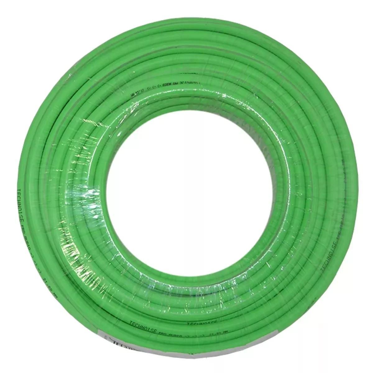 Fio Cabo Flexível 2,50mm verde 1 Metro