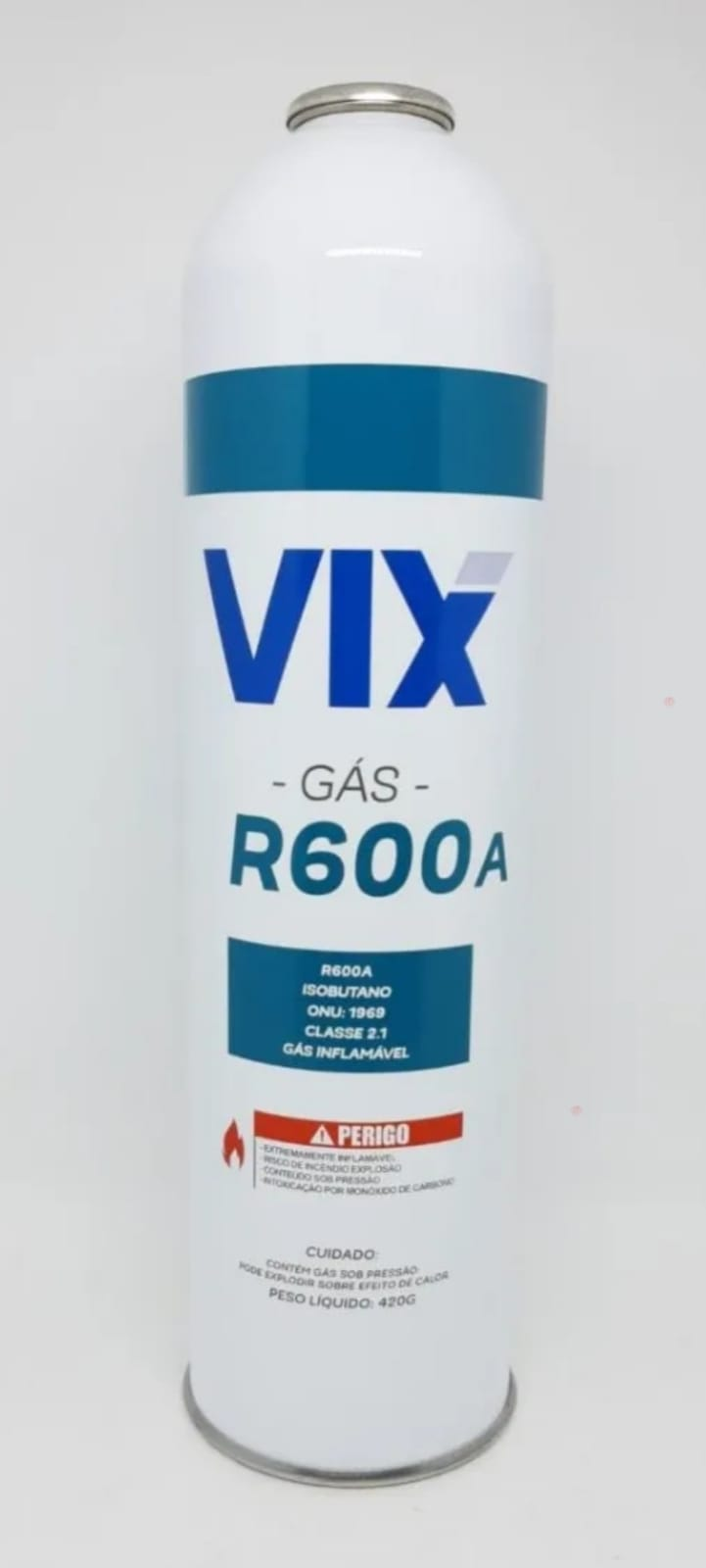 Gás R600a Lata Cilindro 420G