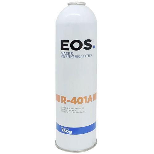Gás Refrigerante EOS Cilindro Descartável R401A 750g
