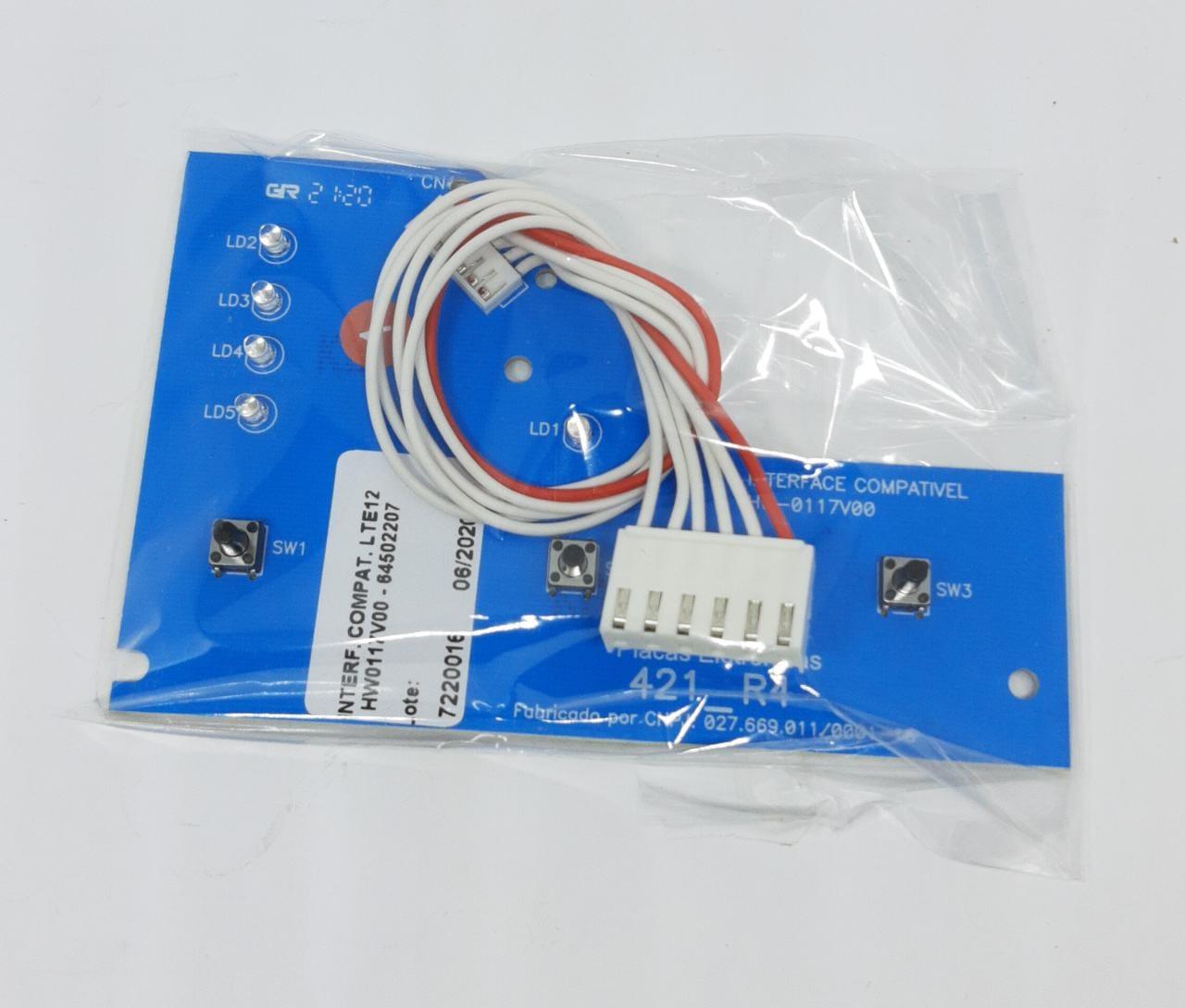 Placa Interface Electrolux Lte12 Hw0117v00 - 64502207 - Alado