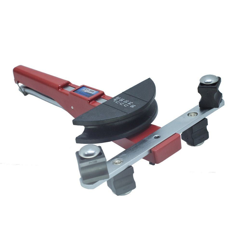 Kit Curvador de Canos de Cobre e Alumínio com Cortador e Escariador 1/4 a 7/8