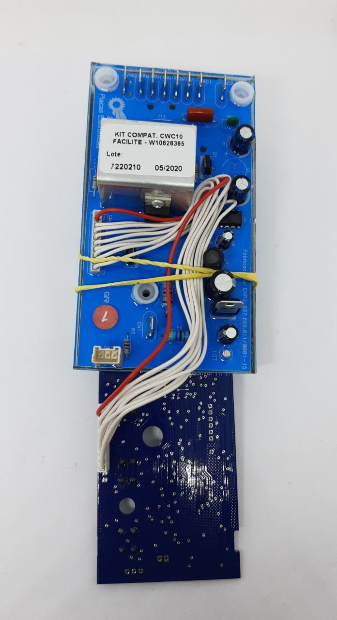 Kit Interface + Placa De Potência - Consul Facilite Cwc10 W10626365 - Alado