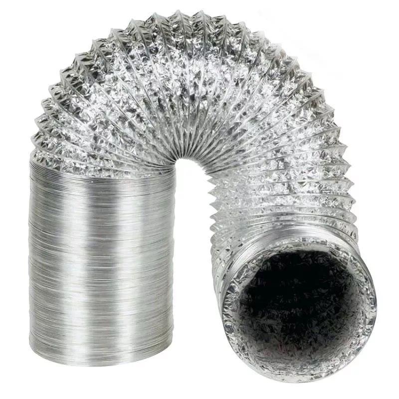 kit Para Instalação De Coifa / Exaustor Duto 1Metro + Grade Externa + 1 Motor Exaustor