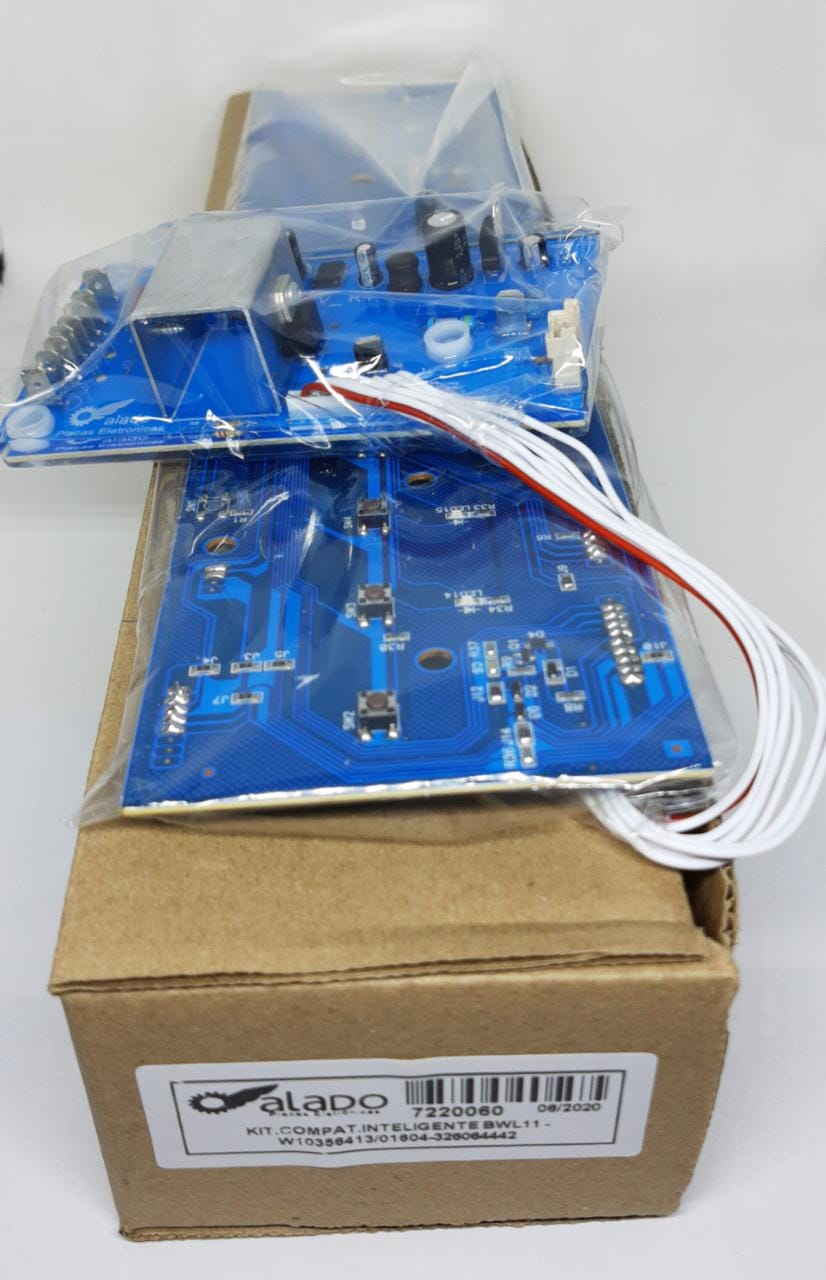 Kit Placa Potencia + Interface Brastemp Inteligente Bwl11 - W10356413 W10301604 - 326064442 - Alado