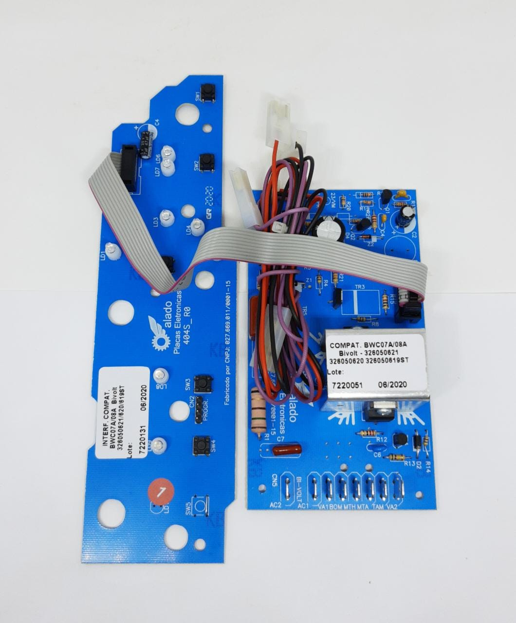Kit Placa Potencia + Interface Bwc07a Bwc08a 326050621 326050620 626050619 - Alado