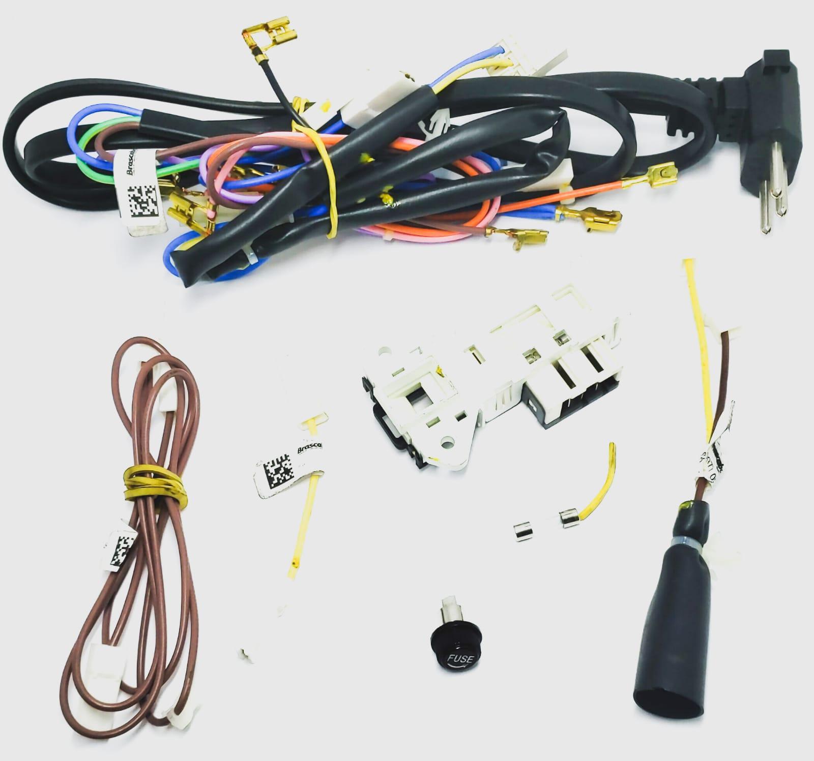 Kit rede Elétrica 220v Consul Cwi07a Original  W10244507