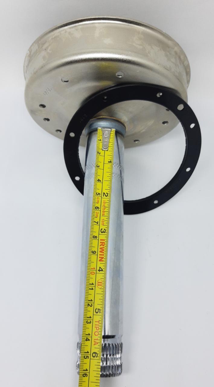 Kit Tubo 26 + Guarnição - Consul - Brastemp - Alado 15kg E 16 Kg W10889404/W11300698- 7112110