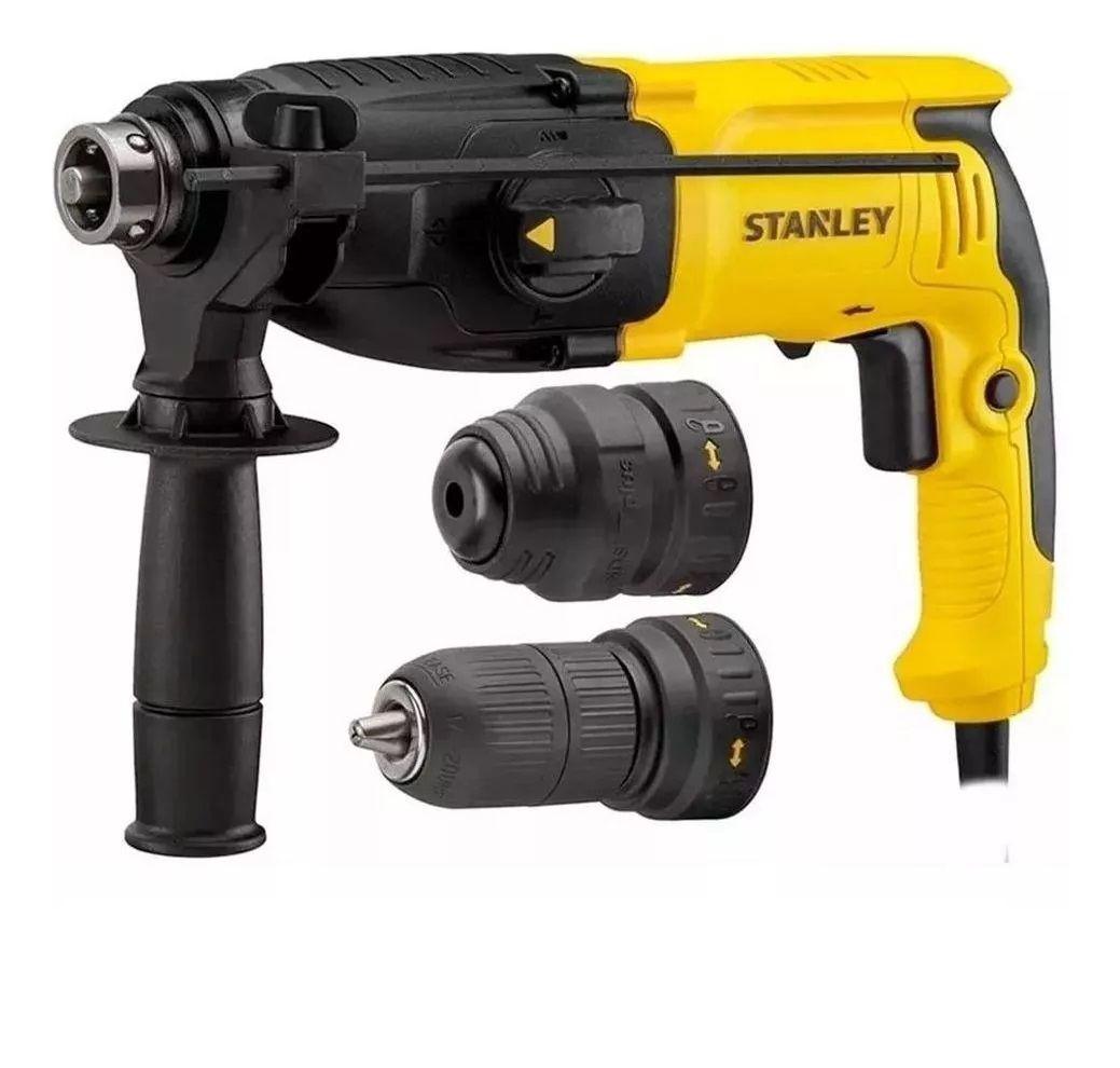 Martelete Profissional 2 em 1 SDS Plus 2,4J 2Kg 800W - STANLEY