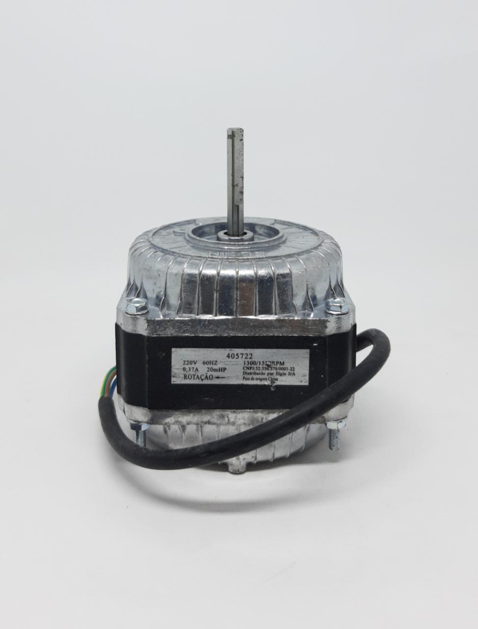 Motor Ventilador 7000 Btus 220v Elgin