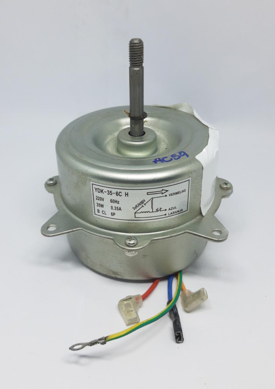 Motor Ventilador Condensadora 9.000 A 12.000 Btus Agratto Acs9 Acs12 Original