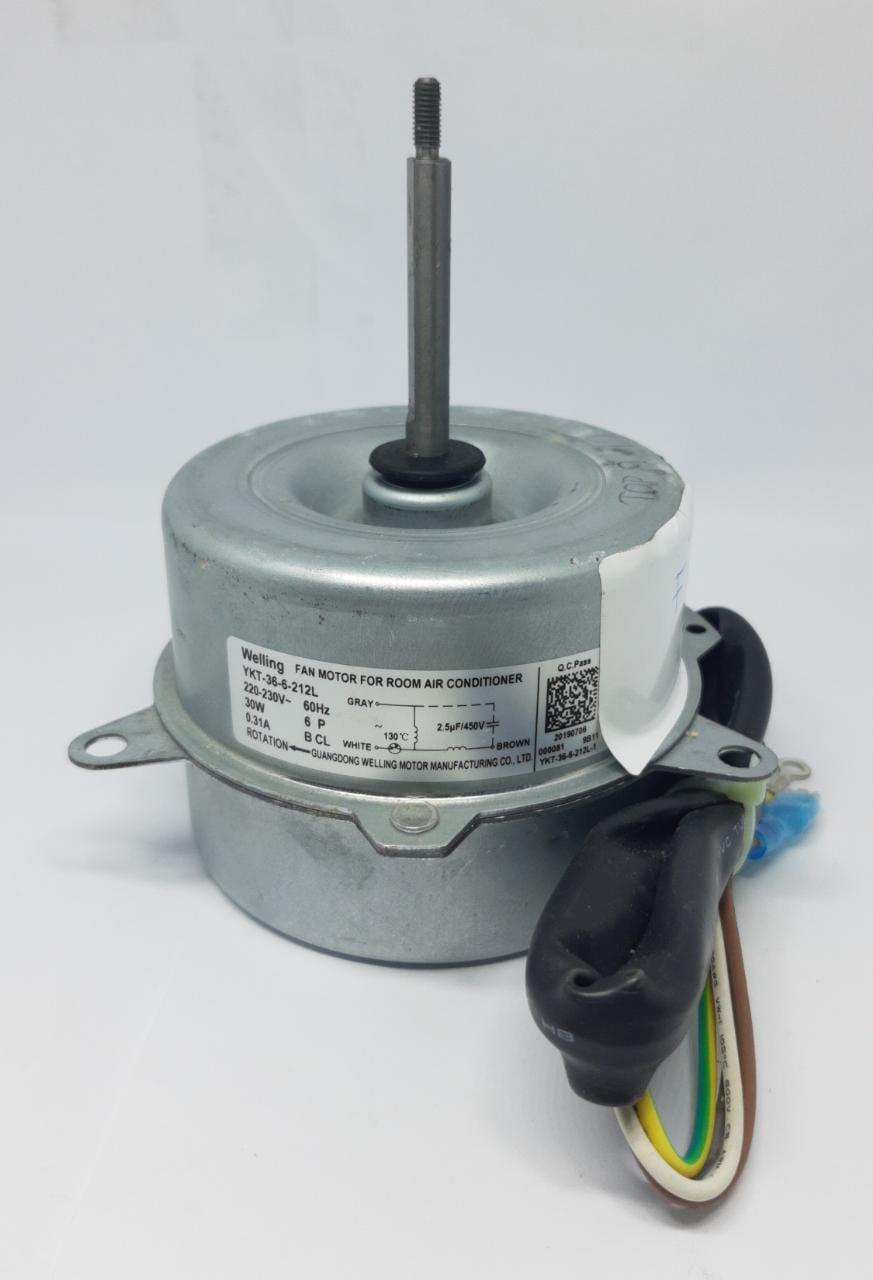 Motor Ventilador Condensadora Agratto Fit - 9.000 / 12.000 Btus Ccs9 Ccs12 Original